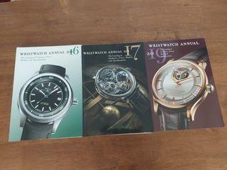 Wristwatch Annuals (2016, 2017, 2019)