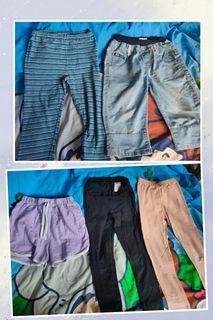 環保價20蚊5條 女童 leggings 緊身褲 短褲 size:130