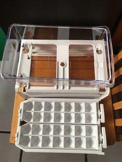 全新免運-三洋製冰盒組+蛋盒X2個