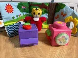日本巧虎的玩具