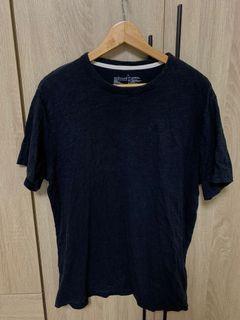 #排行榜 無印良品 上衣 短袖 有機棉節紗天竺圓領短袖T(XL)