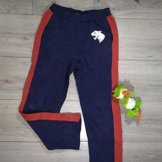 Akuma dark blue sweatpants -TEEN-