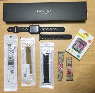 (NEGOTIABLE)Apple Watch Series 3 Nike 38mm