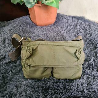 Army Green Dockers Sling Bag
