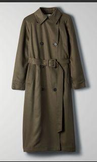 Babaton Aritzia Torino Trench Coat (Extra Small)