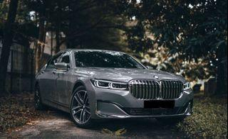 Bmw 740le Available now for Rent