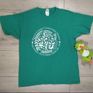 Gildan green t-shirt (size YL)