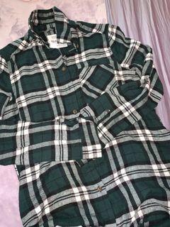 Green Bluenotes Flannel