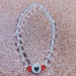 Handmade heart bracelet