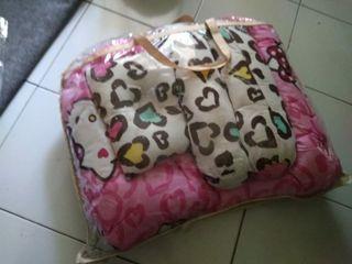 Kasur kelambu bantal bayi preloved