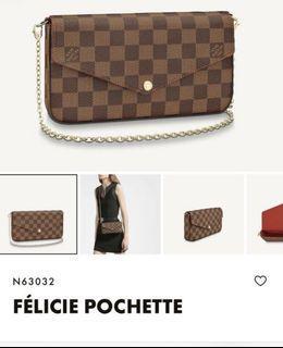 Louis Vuitton felicie pouchette