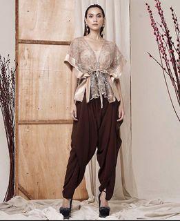 MARYALLE Talk That Pants - Black Harem/Aladdin Pants / Celana Baggy Gombrong Hitam