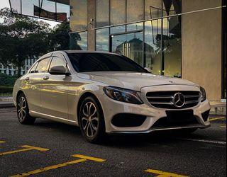 Mercedes C200 for rent