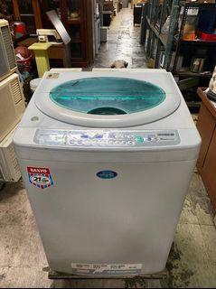 SANYO 三洋媽媽樂 13KG 變頻洗衣機 洗脫衣機 全虹二手家具-台中二手家具-彰化二手家具-員林二手家具