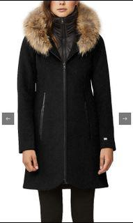 Soia and Kyo Wool Jacket (extra small)