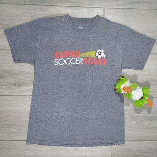 Super Soccer Stars gray t-shirt -TEEN- (size L)