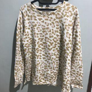 sweatshirt tutul (kuning & pink)
