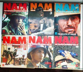 NAM The Vietnam Experience Magazine ( 6 Volume)