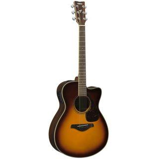 Yamaha FSX830C Solid Top Concert Electro Acoustic Guitar (Rosewood Body)