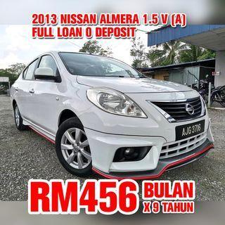 2013 Nissan Almera 1.5 V (Auto)