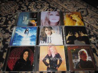 9 music cds