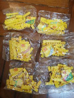 維他檸檬茶積木 全套6款 (無售賣機)只拆蛋殼 未拆袋