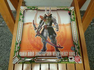 全新 BANDAI TAMASHII 魂商店 SIC KAMEN RIDER ZANGETSU SHIN MELON ENERGY ARMS 斬月 真 幪面超人 鎧武 MASKED [日版]