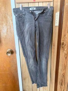 Acne Jeans slightly cropped (gray)