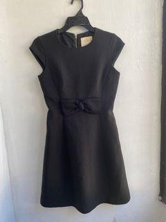 Authentic Kate Spade black bow dress