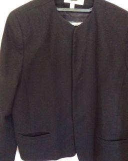 Black wool suits or jacket