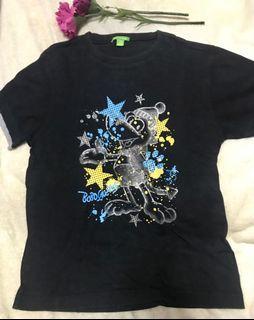 Bossini Kids Mickey Black Shirt