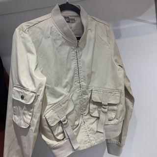 Cargo bomber jacket
