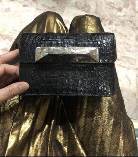 Celestina Crocodile Leather Bag