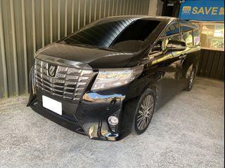 👉FB收尋:阿魁嚴選中古車👈2017 Alphard 3.5 黑色 ❗0元牽車❗高期數❗低月付❗客制改裝❗輕鬆把🚗牽回家❤️