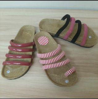 ♻️Ladies Birken flipflop slipon sandals