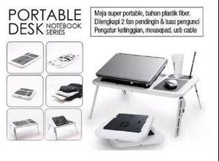 Meja Laptop Multifungsi/Fan Kipas Laptop