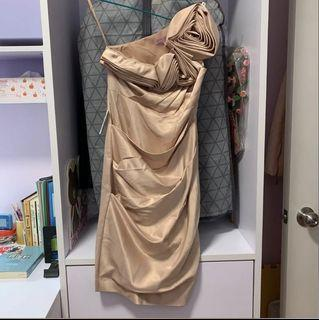 New ASOS Size Medium Women Evening Gown 女裝中碼長身裙 斯文裙 晚裝