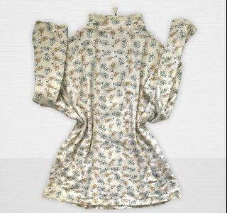 Plus size Printed Cotton Jacket/XL-2XL/ZipUp