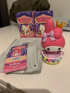 POP Mart Senrio Characters Party Melody Ornamental Ribbon 冇盒