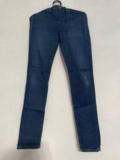 Preloved Wrangler Authentic / Original  Blue Jeans / Denim  Pants / Celana 28 - 29