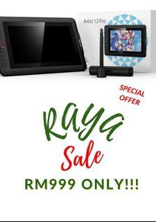 Raya Sale - XP-Pen Artist Display 12 Pro Drawing Tablet