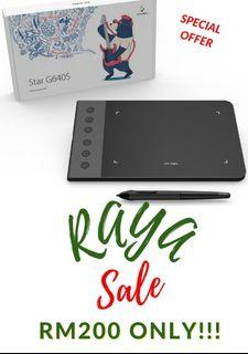 Raya Sale - XP-PEN Star G640S Portable Digital Android Drawing Tablet