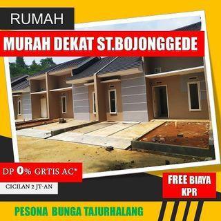 Rumah minimalis bebas banjir dan strategis di tajur halang