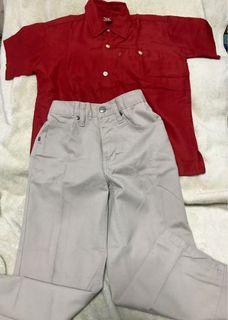 Set of Bench Brats Pants & Polo