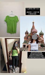 青綠T-shirt