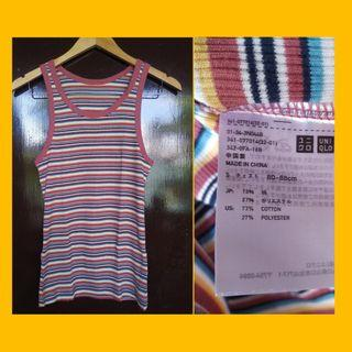 Uniqlo Ribbed Tank Top for Men