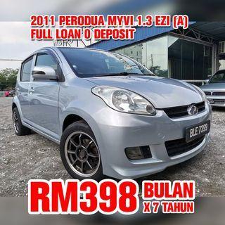 2011 Perodua Myvi 1.3 EZi (Auto)