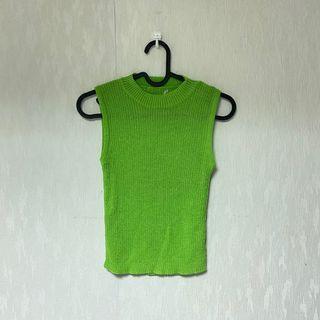 草綠針織背心🌵