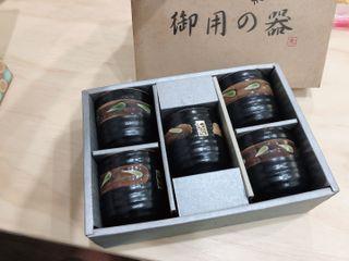 全新居酒屋日式茶杯組 一組五入