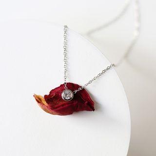 (現貨) 歐美日韓網紅必備簡約小眾輕奢精緻小巧細緻銀色項鍊首飾飾品配件